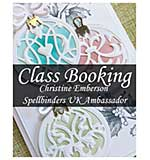 CLASS 1612 - Spellbinders Christmas with Christine Emberson