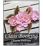 CLASS 1612 - Spellbinders Greetings Cards with Christine Emberson