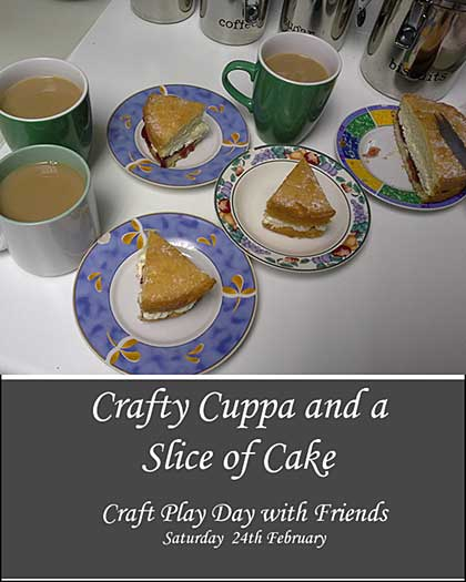 CLASS 2402 - Crafty Cuppa and a Slice of Cake