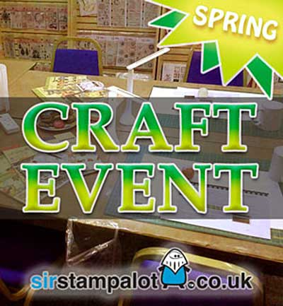 CLASS 2704 - Sir Stampalot Spring Crafting Event Weekender