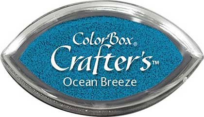 SO: ColorBox Crafters Cats Eye Ink Pad - Ocean Breeze