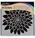 SO: ColorBox Screens - Bloom  6x6 Stencil Templates