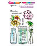 Stampendous Perfectly Clear Stamps 4x6 Sheet - Bouquet For You