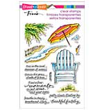 Stampendous Perfectly Clear Stamps 4x6 Sheet - Seaside Chair