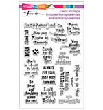 Stampendous Perfectly Clear Stamps 4x6 Sheet - Wild Sayings