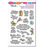 Stampendous Perfectly Clear Christmas Stamps 4x6 Sheet - Christmas Expressions