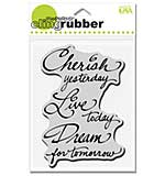 Stampendous Cling Rubber Stamp - Cherish Live Dream