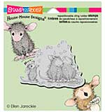 Stampendous House Mouse Cling Stamp - Shower Of Love