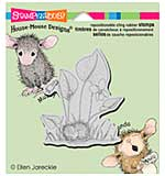 SO: Stampendous House Mouse Cling Stamp 3.5x4 - Violet Nap