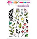 Stampendous Perfectly Clear Stamps 4x6 - Fronds