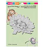 SO: Stampendous House Mouse Cling Stamp - Sunflower Smile