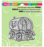 SO: Stampendous Cling Stamp - Tiny House Wagon