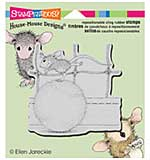 SO: Tennis Anyone - Stampendous House Mouse Cling Stamp