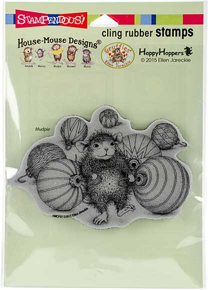 SO: Stampendous House Mouse Cling Stamp - Ornament Collecting