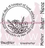 Bouquet Of Best Wishes - Woodware Clear Magic Stamps
