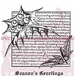 SO: Holly Script - Woodware Clear Magic Stamps