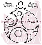 Patch Circle Bauble - Woodware Clear Magic Stamps