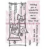 SO: Christmas Bells - Woodware Clear Magic Stamps