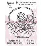 SO: Doodle Flower Arrangement - Woodware Clear Magic Stamps
