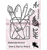 SO: Follow Your Art - Woodware Clear Magic Stamps
