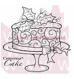 SO: Christmas Cake - Woodware Clear Magic Stamps