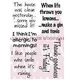 A Touch Of Humour - Woodware Clear Magic Stamps
