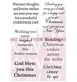 Christmas Cheer - Woodware Clear Magic Stamps