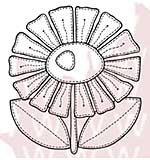 SO: Woodware Clear Stamps - Marguerite Patch
