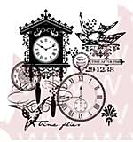 SO: Woodware Clear Stamps - Time After Time