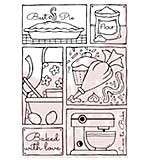 SO: Woodware Clear Stamps - Baking Sampler