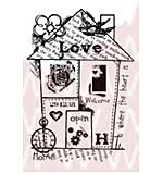 Woodware Clear Stamps - Home Collage