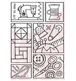 SO: Woodware Clear Stamps - Sewing Sampler
