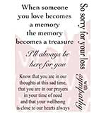 Woodware Clear Stamps - Treasured Thoughts