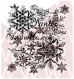 SO: WA16 Woodware Clear Stamps - Snowflakes