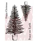 WA16 Woodware Clear Stamps - Traditional Tree