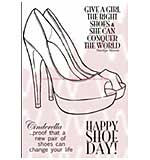 WA16 Woodware Clear Stamps - Glamour Shoes