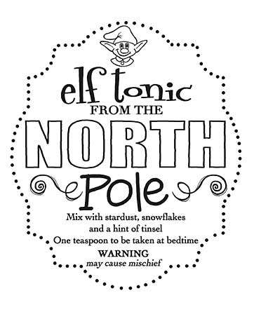 Woodware Clear Singles - Elf Tonic Tag