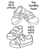 Woodware Clear Singles - Toddler Shoes