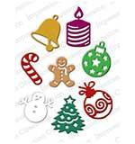 IO Cutting Dies - Christmas Icons
