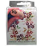 SO: Rubber Stamp Tapestry - Wild Berry Vine