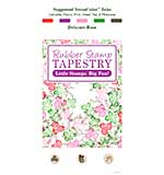 Rubber Stamp Tapestry - Delicate Rose