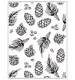 Crafts Too Embossing Folder - Pine 14.6 x 19cm