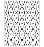 Crafts Too Embossing Folder - Seamless Circle 14.6 x 19 cm