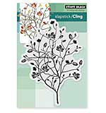 Penny Black Cling Rubber Stamp 3.5x4.75 Sheet - A Day In Autumn