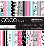 Penny Black Paper Pad 6x6 48pk - Coco Style