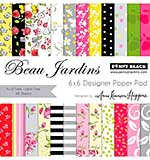 Penny Black Paper Pad 6x6 48pk - Beau Jardins