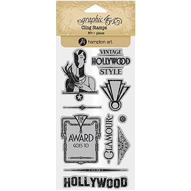 Graphic 45 Vintage Hollywood Stamps - #3