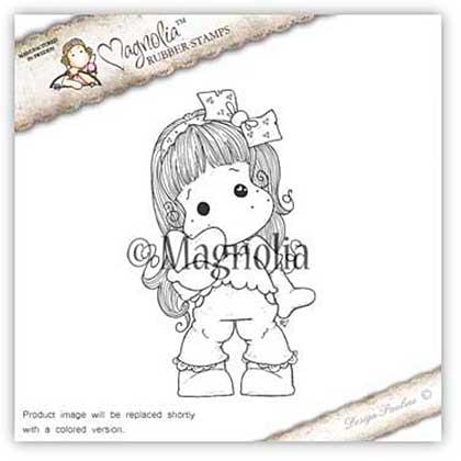 Magnolia EZ Mount Stamp ALC15 - Christmas Heart Tilda