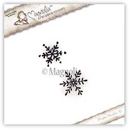 Magnolia EZ Mount Stamp ALC15 - Christmas Snowflakes