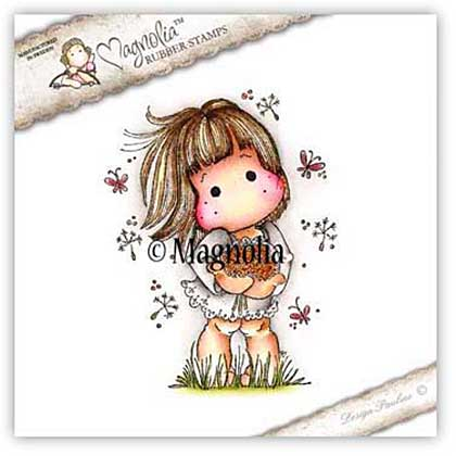 SO: Magnolia EZ Mount Stamp SF16 - Dandelion Tilda